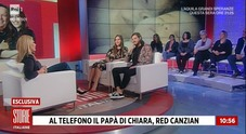 Red Canzian, a Storie Italiane la telefonata a sorpresa per la figlia che si sposa