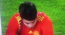 Spagna, l'incredibile errore di Morata
