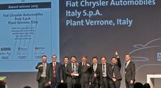 """Fca, allo stabilimento di Verrone il premio """"Lean & Green Management Award"""""""