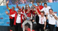 L'Abt della rimonta, Audi vince in Messico. Il tedesco domina l'E-Prix davanti a Turvey e Buemi