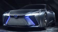 Lexus LS+ Concept, l'ammiraglia che stupisce: non solo guida autonoma ma apprendimento da IA e Big Data