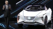 Nissan svela il crossover elettrico ed autonomo IMx. Schillaci presenta a Tokyo lo sguardo sul futuro della casa