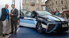 Mirai al MotoGp di Misano, le autorità di San Marino sulla Toyota a idrogeno