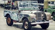 Land Rover, al via le celebrazioni per il 70°anniversario. Ritrovato modello preserie del 1948