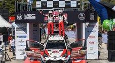 WRC, la vittoria della Toyota Yaris di Tanak nel rally di Turchia