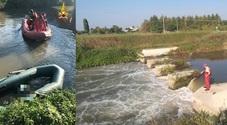 Amici a pesca sul fiume: gommone  si rovescia, muore un 27enne