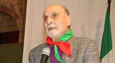 Addio al partigiano Eros, Umberto Lorenzoni, storico presidente dell'Anpi