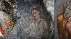 """Pompei, gli scavi portano alla luce un ritratto a """"luci rosse"""""""