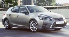 Lexus CT, la compatta ibrida rinnovata nel look e nella sicurezza
