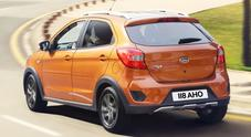 Ka+ Active, Ford trasforma la piccola di famiglia in un mini crossover a ruote alte