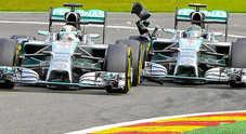 Mercedes, quando la coppia scoppia: Hamilton-Rosberg affondano la Stella Fotogallery
