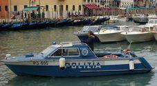 Motoscafo della polizia