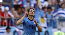 L'Uruguay strapazza la Russia 3-0: si sblocca Cavani, la Celeste fa festa