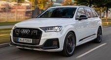 Audi, arriva in Italia la Q7 TFSI e-quattro, Suv ibrido hi-tech. Potenza di 456 cv, autonomia di 43 km a 0 emissioni