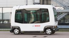 Bosch, progetto 3F di veicolo a guida autonoma destinato alla mobilità dell'ultimo miglio