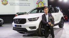 """Volvo XC40 è """"Auto dell'Anno 2018"""". Al secondo posto Seat Ibiza, al terzo Bmw Serie 5"""