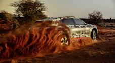 Audi e-tron, test estremo nella savana africana per il Suv elettrico (2)