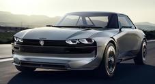 Peugeot e-Legend concept. Il Leone fa un tuffo nel passato per sbarcare nel futuro