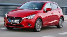 Mazda2, adesso c'è anche il diesel Skyactiv-D 1.5 da 105 cv