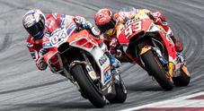 GP d'Austria: trionfa la Ducati di Dovizioso, controsorpasso a Marquez all'ultima curva