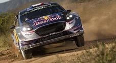WRC, nel rally d'Argentina partenza a razzo di Ford: Ogier in testa, poi Evans. Sordo 3° sulla Hyundai