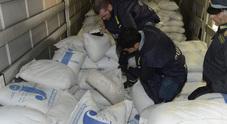 Maxi sequestro di droga: 50 chili  nascosti in un camion dall'Iran