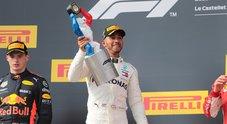GP Francia, Hamilton: «Grande giornata, mi sono goduto gara»