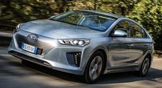 Hyundai Ioniq EV regina di efficienza. Ha un costo di appena 2 centesimi al km