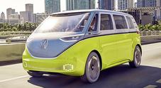 Volkswagen Bulli, torna nel 2022 il mitico pulmino e sarà 100% elettrico