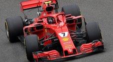 GP Cina, Mercedes di Hamilton davanti nelle libere ma la Ferrari di Raikkonen è vicinissima