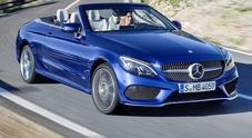 Mercedes Classe C Cabrio, fascino e piacere di guida per la scoperta tedesca