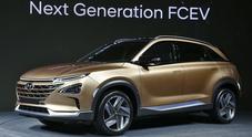Hyundai, ecco il nuovo Suv a idrogeno da 800 km di autonomia