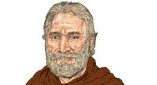 Nicolò Starantonio Barattiero nell'illustrazione di matteo Bergamelli