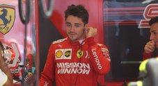 Leclerc cambierà la power unit: a Interlagos penalizzato in griglia di 10 posizioni