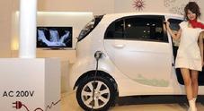 Cina, target al 10% di auto verdi nel 2019 come quota minima di vendite annue