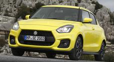 Suzuki Swift Sport: divertimento assicurato. Leggera e agile con grinta da vendere