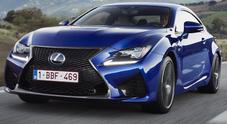 Lexus punta sulla sportività: arriva la gamma F anche in Italia, ecco RC F e GS F