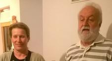 Sonia Borghese e Piero Corredig col trofeo Fia di vicecampioni d'Europa