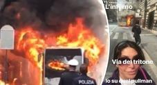 Carmen Di Pietro tra i passeggeri: «Ho visto l'inferno»