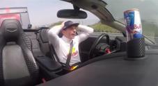 Verstappen e Ricciardo, la folle sfida alla caravan race