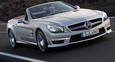 Mercedes SL 63 griffata AMG: classe e potenza con i capelli al vento