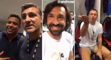 Vieri scatenato alla serata per Pirlo: lo show finisce su Instagram