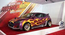 Hyundai protagonista a Hollywood con tre stelle: Kona, Santa Fe e Veloster