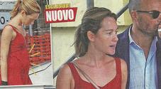 Cristiana Capotondi pancino sospetto a pranzo con Andrea Pezzi