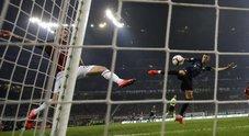 Milan-Inter, le foto della partita