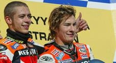 Hayden, Valentino: «Forza Nicky siamo tutti con te. É uno dei migliori amici che ho avuto nel paddock»