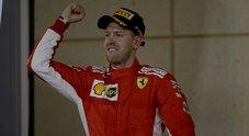 Vettel con il fiato sospeso: «Credevo di non farcela. Ero sicuro che Bottas mi avrebbe ripreso»»
