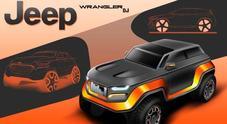 Jeep, studenti ipotizzano look della Wrangler del 2030