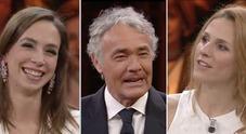 """Giletti nella morsa delle pornostar Malena e Michelle Ferrari: """"Devi trasgredire"""""""