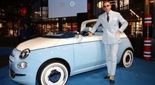 Lapo Elkann: «Sono emozionato, la Fiat 500 Spiaggina di Garage Italia è un sogno che si avvera»